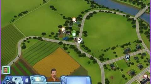 Sims 3 Riverview City - I spillet