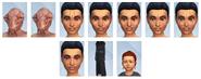 Sims 4 Viaje a Batuu CAS 4
