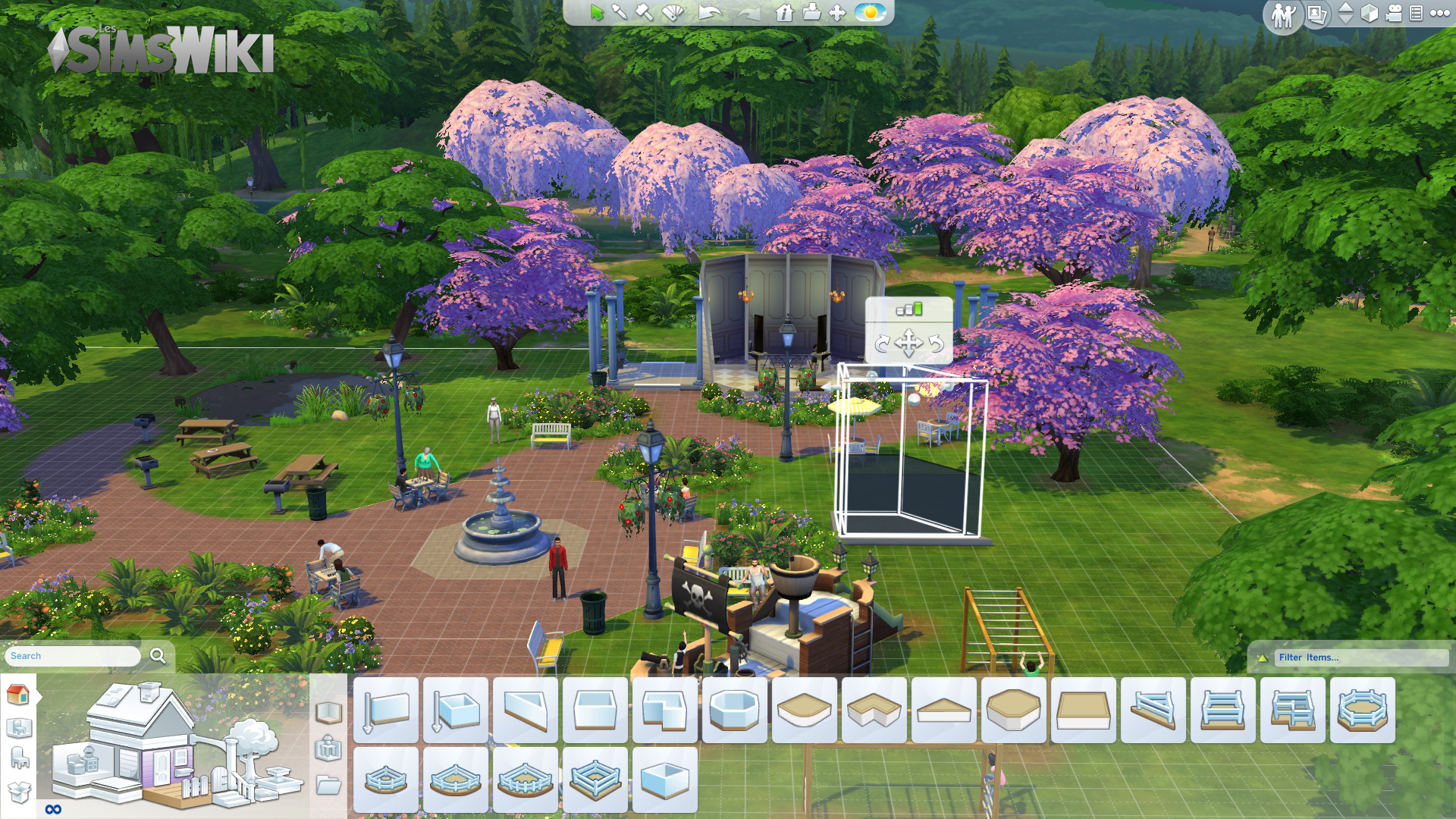 Juleski/Gamescom 2014 - Les Sims 4 - Le mode construction