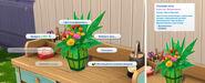 Стол флориста в The Sims 4