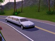 Driving to prom in a limo