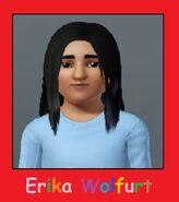 Erika in the elementary school