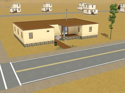 Residencia ''Oasis'' hecho por Luis Simspedia