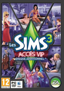 Jaquette Les Sims 3 Accès VIP.png