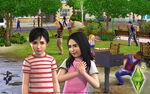 Les Sims 3 Fond d'écran Parc 1680x1050