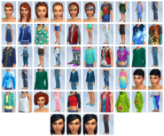 Sims4 Papas y Mamas CAS