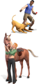 56px-TS3 Pets render dog and horse