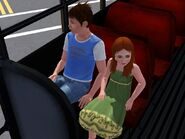 Cody and Kirsten alive in the schoolbus