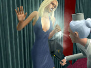 Dina smacked by Mrs. Crumplebottom 2