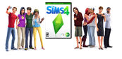 TS4 Promo Image w box art and Sims