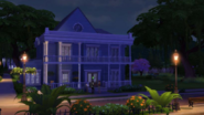 TS4 Town Nighthouse