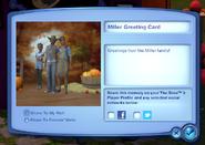 Greeting card sharing interface