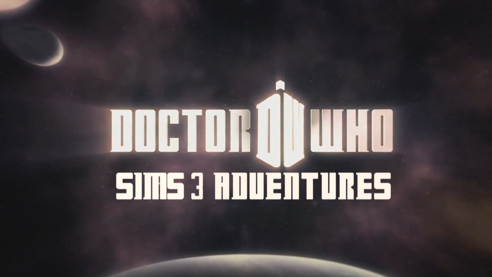 Doctor Who : Sims 3 Adventures