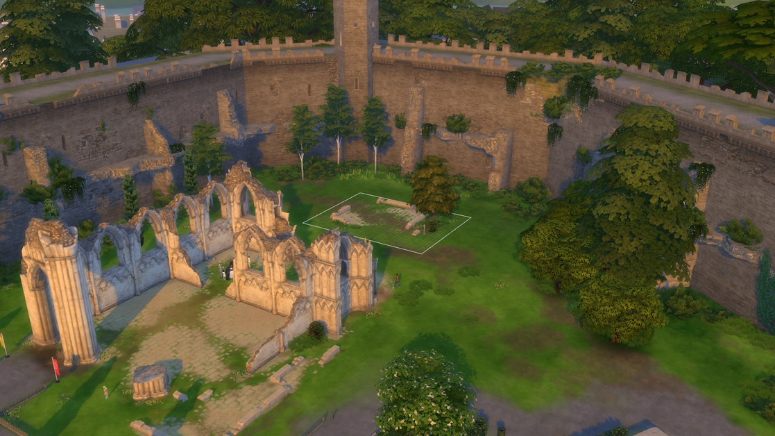 Ancient ruins (lot assignment)