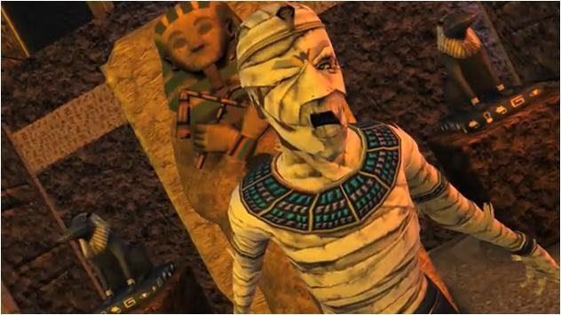 Muerte por maldición de la momia