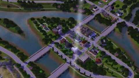Riverview a new city in the Sims 3