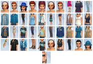 Sims4 Aventura en la Selva CAS
