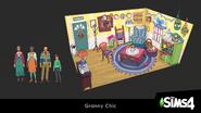 Créez un kit Les Sims 4 - Mamie chic