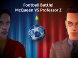Fanon:Cars: Football Battle McQueen VS Professor Z