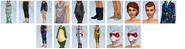 Sims4 Urbanitas CAS3