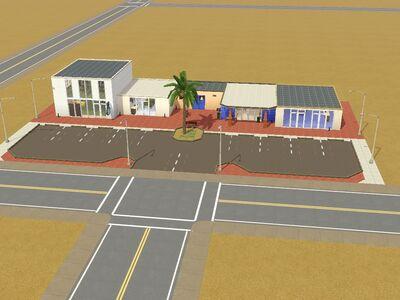 Centro comunitario ''Espejísmo'' hecho por Luis Simspedia