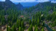Glimmerbrook paisaje