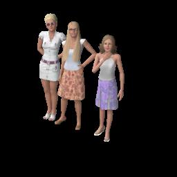 Семья Джордано (The Sims 3)
