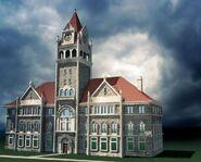 Moonlight Falls city hall concept art 1