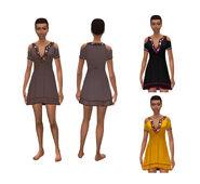 Sims 4 Noche de Cine Arte Conceptual 2