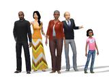 Spencer-Kim-Lewis familie