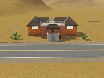 Casa desocupada 2 versión de Luis Simspedia