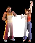 Les Sims 10 ans Render 1