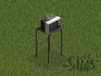 Television/The Sims