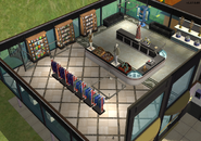 Amar's Clothing and Instruments second floor isometric 1