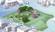 Magnolia Blossom Park - Map View