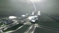 Futuristic storm