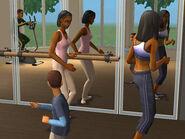 Bell Family Exercising