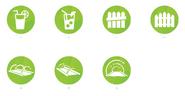 Icônes potentielles Les Sims 4 En plein air