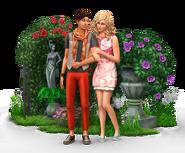 Sims4 Jardin Romantico render2