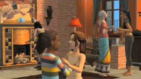The Sims 2 Переезд в квартиру - видеоролик