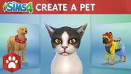 The Sims 4 Cats & Dogs Create A Pet Official Gameplay Trailer