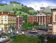 Les Sims 3 Concept art 4