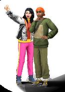 Sims 4 Escapada en la Nieve Render 3