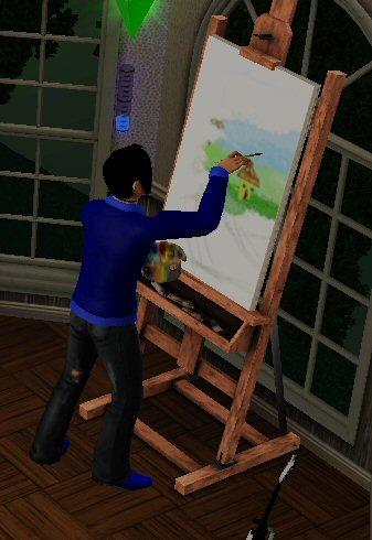 Рисование (The Sims 3)