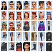 Sims 4 Escapada en la Nieve CAS 1