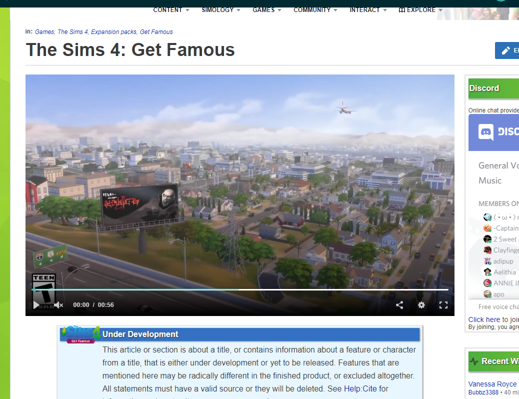 K6ka/Featured Videos on The Sims Wiki