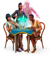 The Sims 4 Paranormal Stuff Render 01