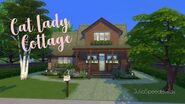 Cat Lady Cottage The Sims 4 Speed Build