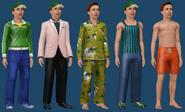 Micheal Bachelor ts3 wardrobe