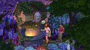 Sims4 Jardin Romantico 4
